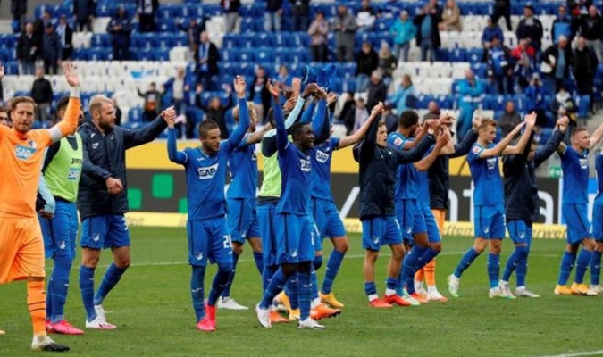 Hoffenheim sorprendió al campeón