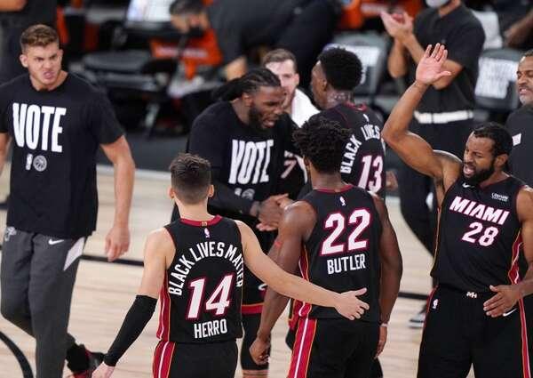 Miami Heat derrotó a Boston Celtics por 125-113 /Foto cortesía