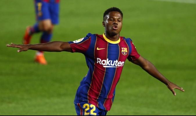 Ansu Fati se proyecta como la futura estrella del Barcelona / foto ocrtesía