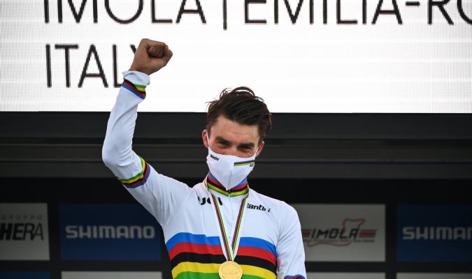 El francés estrenará el maillot arcoiris / foto cortesía