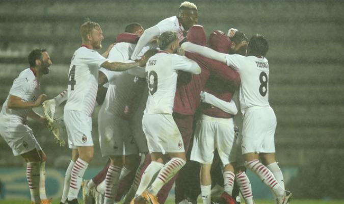 El Milan se aseguró 15 millones de euros tras el duelo| AP