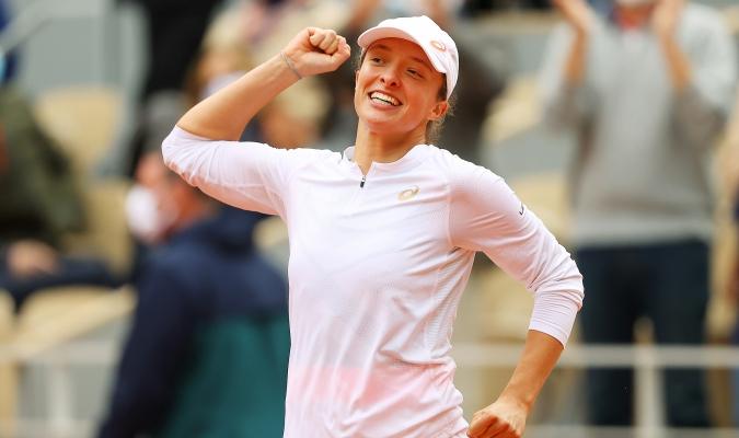 La tenista polaca es una gran admiradora de Nadal/ Foto Cortesía
