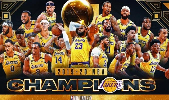 Los Ángeles es el nuevo monarca de la NBA al vencer 4-2 al Heat de Miami