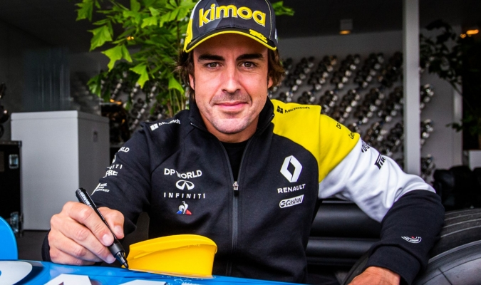 Fernando Alonso afronta una jornada de test en Montmeló/Foto cortesía