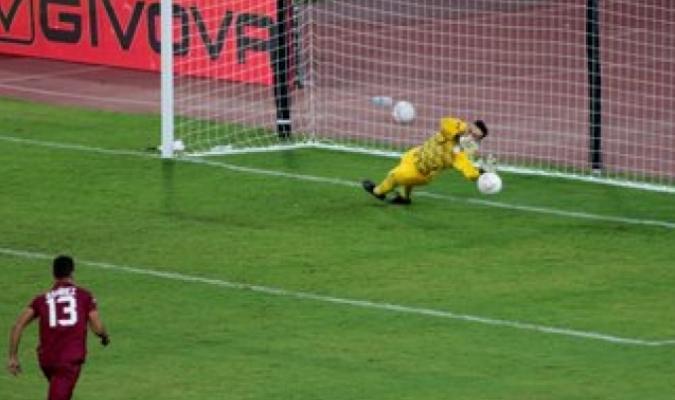 Silva esfumó las posibilidades de sumar puntos| @Albirroja