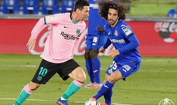 Messi no pudo romper la dinámica del Getafe| @GetafeCF