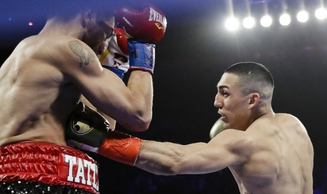 El boxeador norteamericano tuvo su gran noche| AP