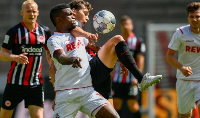 El empate deja al Eintracht en la cuarta plaza