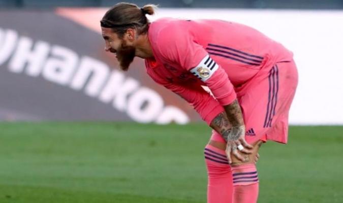 Ramos tuvo que ser sustituido en el partido ante el Cadíz/Foto cortesía