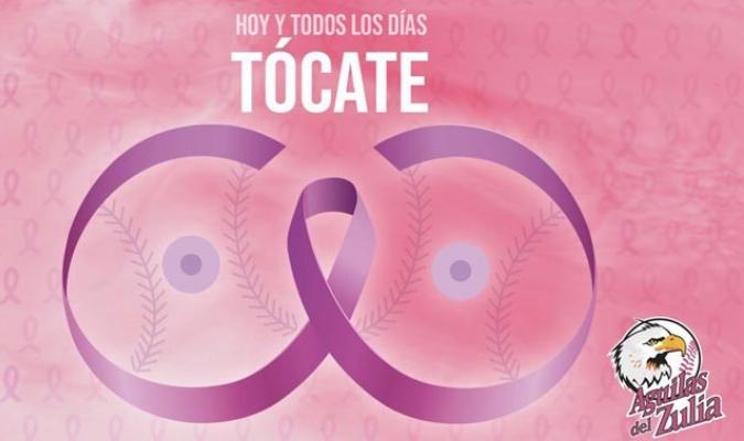 Distintos equipos de diferentes ligas deportivas apoyan la lucha contra el cáncer de mama