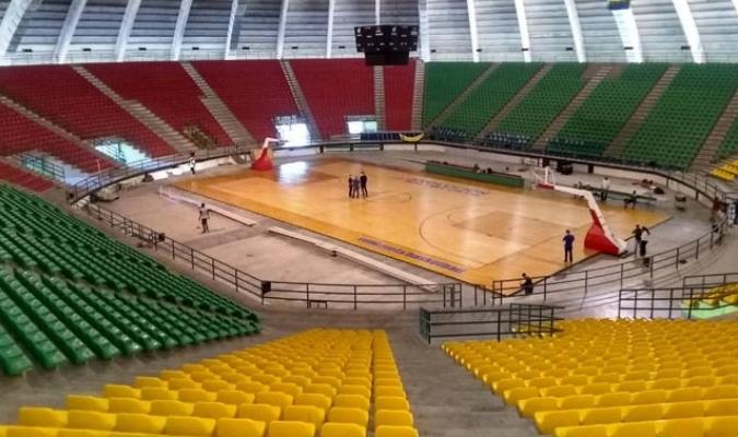 La sede de Margarita se prepara para el inicio de la Súperliga de baloncesto