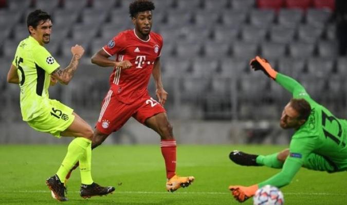 El conjunto alemán le propinó una goleada de 4 a 0 al Atlético /Foto cortesía