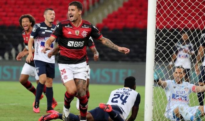 Flamengo domina el grupo A y manda al Junior a la Sudamericana / foto cortesía