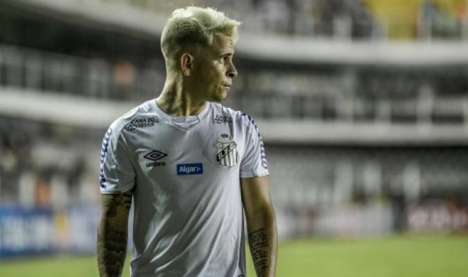 Soteldo jugará el resto de la temporada de préstamo con el Santos / foto ocrtesía