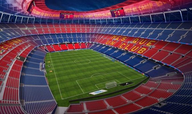 El Barça estableció un escalado de espectadores