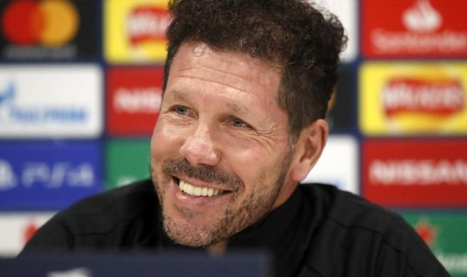 El entrenador del Atlético de Madrid/Foto cortesía