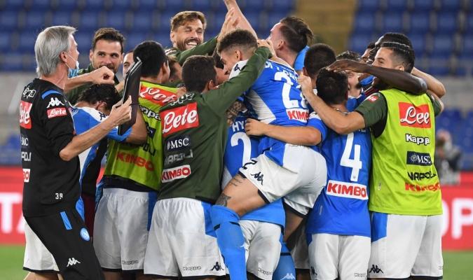 El Nápoles remontó y ganó/Foto cortesía