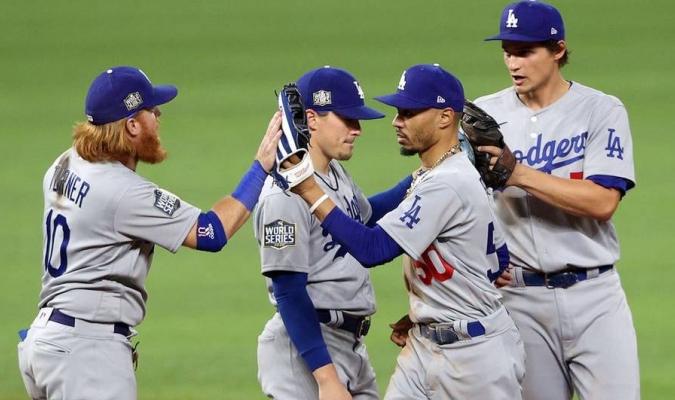 Los Dodgers está arriba en la 3-2