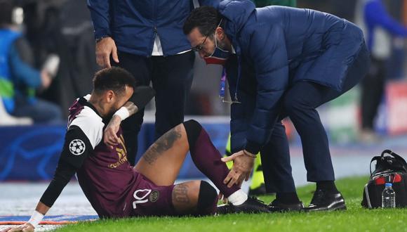 Neymar se lesionó al minuto 25 /Foto cortesía