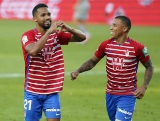 Machís viene de marcar un  gol contra el Levante / Prensa Granada