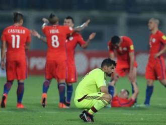 Chile venció 1-4 al combinado nacional