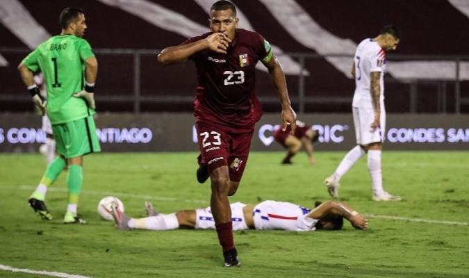 La oncena patria pudo vencer por primera vez a Chile en casa  Prensa Vinotinto