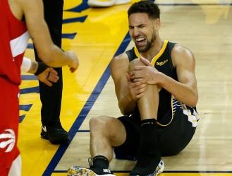 Thompson se lesionó la pasada temporada en las finales contra Raptors / foto cortesía