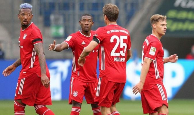 El Bayern es líder de la tabla