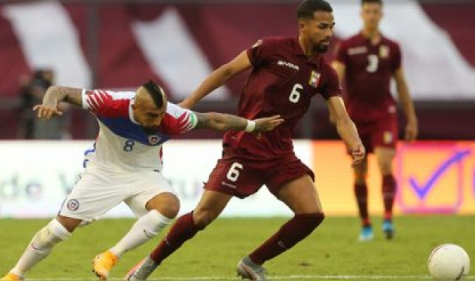 Yangel fue el jugador más destacado del partido contra Chile / foto cortesía