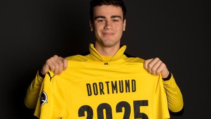 Reyna renovó con el Borussia Dortmund hasta 2025 /Foto cortesía