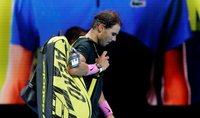 Nadal perdió ante Medvedev / foto cortesía