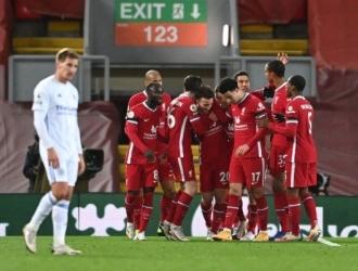 Jota volvió a marcar para los Reds /Foto cortesía