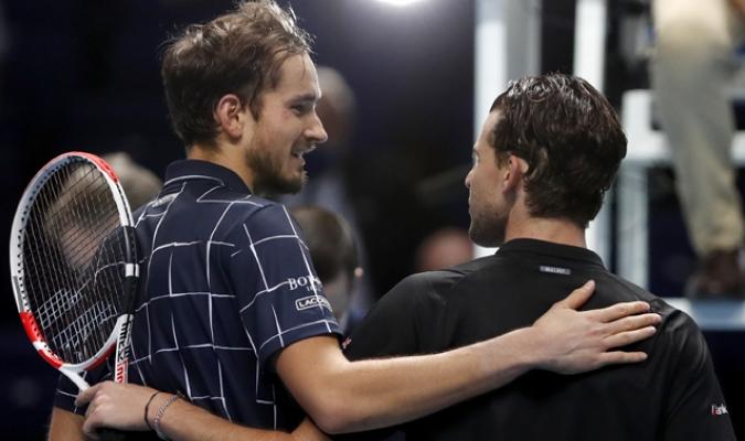 Medvedev batió a Thiem en el ATP Masters| AP