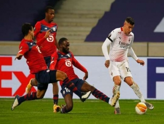 Milan se complicó en la Europa League al ubicarse segundo en el Grupo H /Foto cortesía