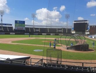 El estadio José Bernardo Pérez se quedó sin inauguración  Prensa Magallanes