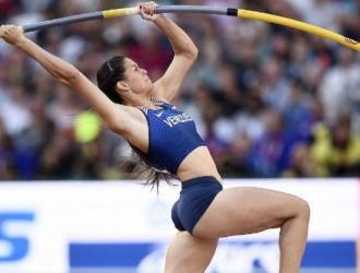 Robeilys Peinado especializada en el salto con garrocha/Foto cortesía