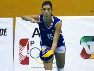 María José Pérez es figura en el voleibol venezolano