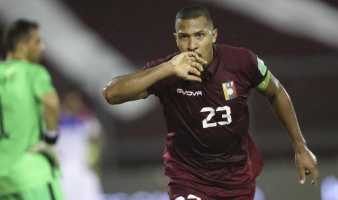 Rondón vuelve a visitar Málaga / foto cortesía