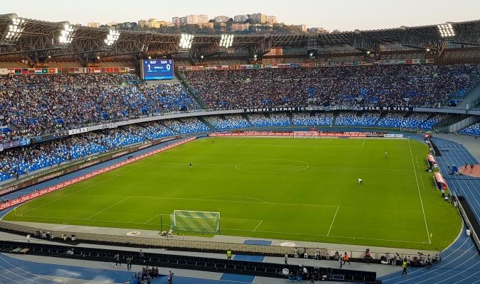 El estadio recién llamado Diego Armando Maradona/Foto cortesía