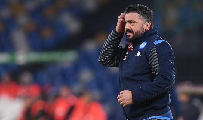 Gennaro Gattuso, técnico del Nápoles/Foto cortesía