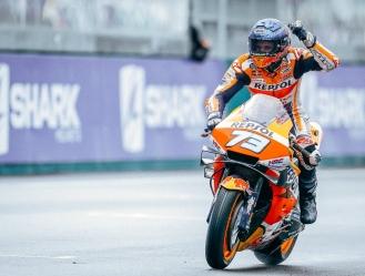 Alex consiguió un podio en Aragón / foto cortesía