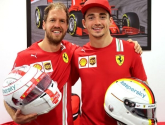 La llegada de Leclerc terminó de condenar la salida de Vettel / Foto cortesía