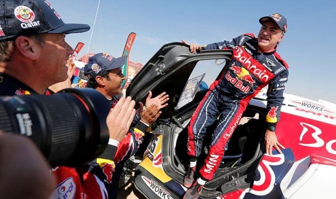 Carlos Sainz, vigente campeón del Rally Dakar/Foto cortesía