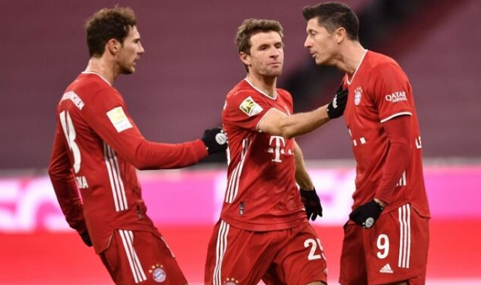 Es el octavo partido consecutivo en el que el Bayern arranca perdiendo/Foto cortesía