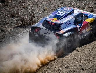 Sainz en la segunda etapa del Dakar /EFE