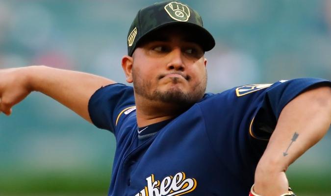El lanzador venezolano Jhoulis Chacín/MLB