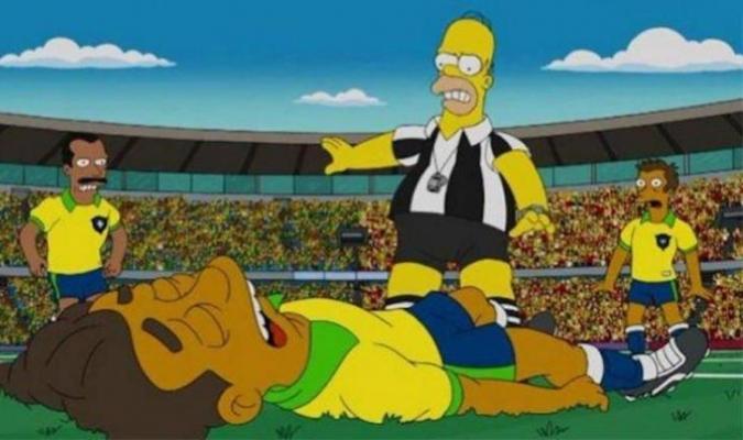 Neymar fue uno de los que aparición en la caricatura amarilla| ARCHIVO