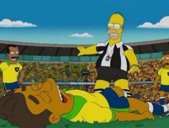 Neymar fue uno de los que aparición en la caricatura amarilla  ARCHIVO