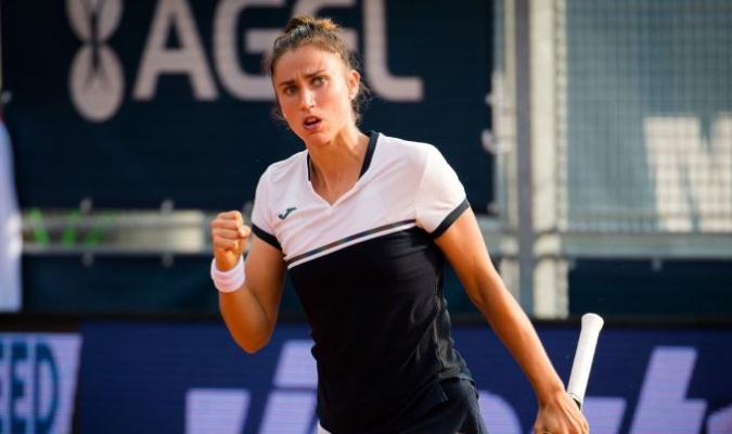 La española se quedó a un paso de disputar la primera final del WTA Tour de este año. / Foto cort