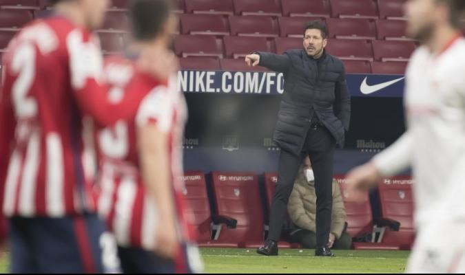 Atlético venció a Sevilla / foto cortesía